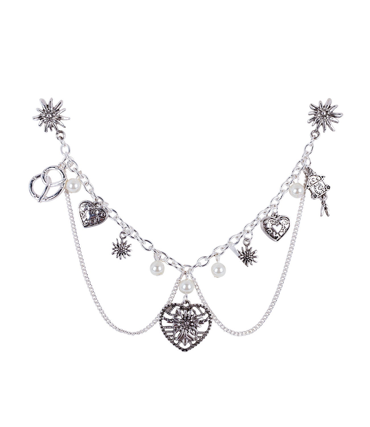 Kette mit Charms